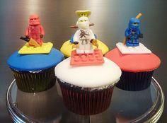 ninjago + cupcakes