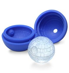 Star Wars Death Star Ice Mold.. need this! think of the chocolate possibilities...