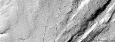 LiDAR image of Denison Hill in CT; Yawgoog Pond is just beyond the upper right corner. The image, from the University of Rhode Island Environmental Data Center, shows the stone walls and foundation holes of the old farmsteads beneath the tree cover. In the early 1990s the hill was briefly considered as a possible storage site for low-level radioactive waste; the hill is the western border of the Yawgoog Pond watershed. Denison Hill is mentioned in the Connecticut Countryside hike.