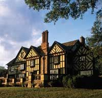 Agecroft Hall, House and Gardens - Beautiful Tudor house built in England and now overlooks the James River in Richmond, VA.