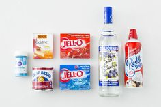 Get Ready for the 4th of July With Red, White and Blue Jello Shots! via Brit + Co.