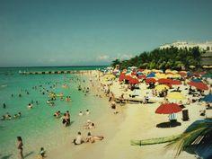 Vintage Beaches & Umbrellas
