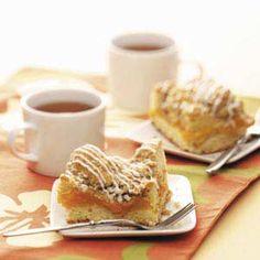 Peach Cobbler Coffee Cake Recipe from Taste of Home -- shared by Virginia M Krites, Cridersville, Ohio