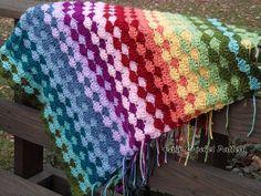 Easy Crochet Pattern: Crochet Shell Afghan Pattern