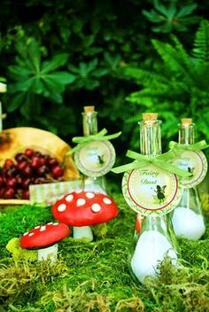 Fairy dust and mushrooms!