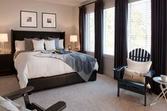 Bedroom Neutral master bedroom Design Ideas, Pictures, Remodel and Decor