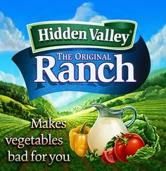 Who else here is guilty of eating salad with a soup of ranch dressing?