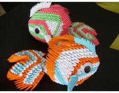 3D Origami Koi Fish 3