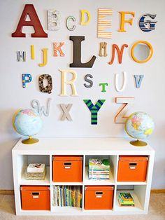 For play area wall
