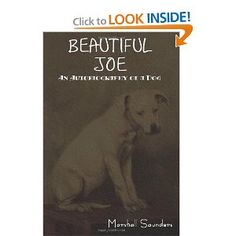 Saunders' most famous novel Beautiful Joe, tells the true story of dog that has had a difficult puppyhood with many obstacles including a cruel owner. It is told from the dog's point of view. When the book was published, both the book and its subject received worldwide attention. It was the first Canadian book to sell over a million copies, and by the late 1930s had sold over seven million copies worldwide.