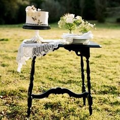 small table for feature decor