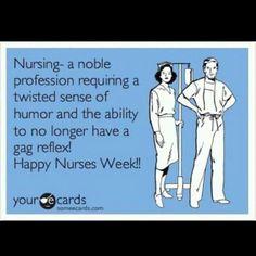To all my nursing friends....I get ya!!! Much love for nurses week !!!