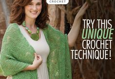 Pattern featured in Annie's Learn Drop Stitch Crochet. Order here: http://www.anniescatalog.com/detail.html?code=871382