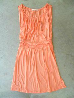 Meadow Field Dress in Apricot