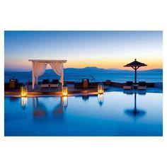 Mykonos Grand Hotel Resort Mykonos, Greece 5 Star Luxury Hotel ❤ liked on Polyvore