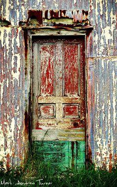 Eriskay, Outer Hebrides, Scotland door
