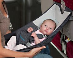 Flyebaby Airplane Baby Seat. interesting