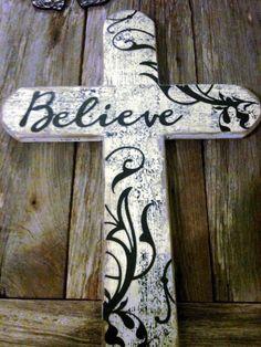 A beautiful handmade cross