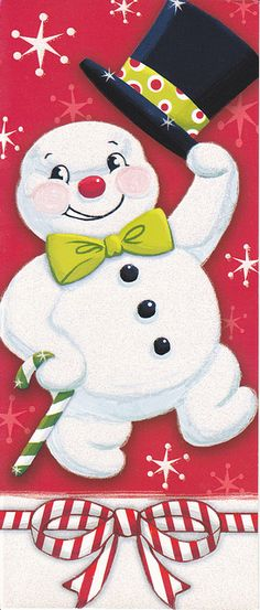 Frosty the Snowman, I love this guy!