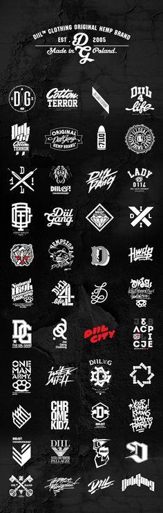 Diil Clothing Branding
