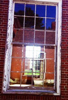 Window through a window, Elm Bank, Wellesley, MA