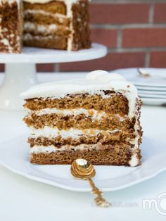 Jam Layered Honey Cake Recipe that is moist, creamy and great fruity flavor. So good!