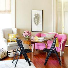 A pink sofa? Pretty please!