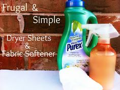 homeade dryer sheets