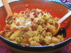 newest recipeswarm, dressing recipes, dress recip, warm potato salad, salad recipes, potato salads, potatoes, dressings, beer dress