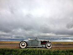 Gray day. It's okay… East bound… Top down. Oh no top I mean  - oldcrowphoto