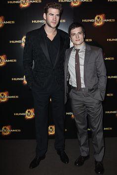 Liam Hemsworth & Josh Hutcherson