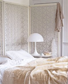lace room divider