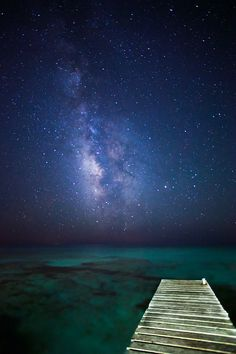 Night Sky in Formentera. Spain by Cem Bayir photography