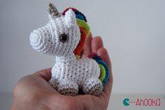 tini unicorn, tini rainbow, rainbow unicorn, unicorn amigurumi, english pattern, crochet unicorn pattern free, unicorns and rainbows, rainbows unicorn
