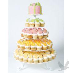 party favors, tier cupcak, mari metal, wedding favors, cupcake stands, cupcak stand, wedding cakes, carri mari, metal cupcak
