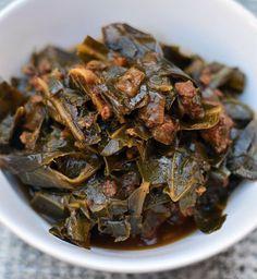 #Recipe: Collard Greens Stew with Chorizo & Garlic