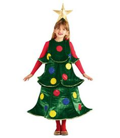 christmas tree costume - Chasing Fireflies