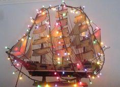 Greek Christmas boat