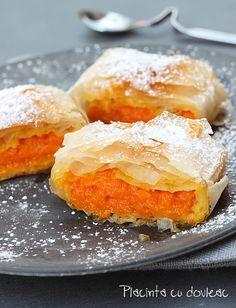 placinta cu dovleac (pumpkin pastry)