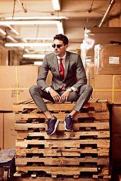 men styles, sporty chic, grey suits, fashion styles, men fashion