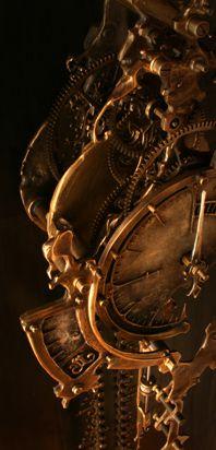 Eric Frieta's Steampunk Clock Designs