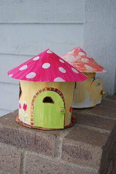 Cardboard play houses