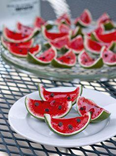 Watermelon Jell-O Shots Recipe