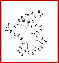 5 Little Ghosts Song and Dot-to-Dot Ghost Printable For Kids.