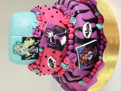 Monster High Cake!