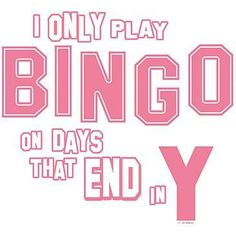 Up at break the bank bingo plays bingo bingo jokes 25 free bingo