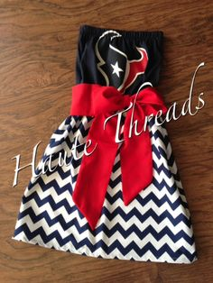 NFL, NCAA, MLB, NBA gameday dresses - www.hautethreadsboutique.blogspot.com $60