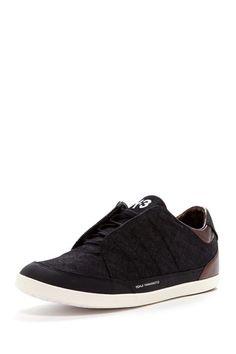 adidas Y-3 Honja Sneaker: Black denim