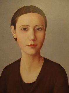 Giovinetta, 1931 by Antonio Donghi (1897 - 1963)