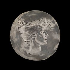 Medal Celebrating Sarah Bernhardt by Rene #Lalique, about 1896 | Corning Museum of #Glass